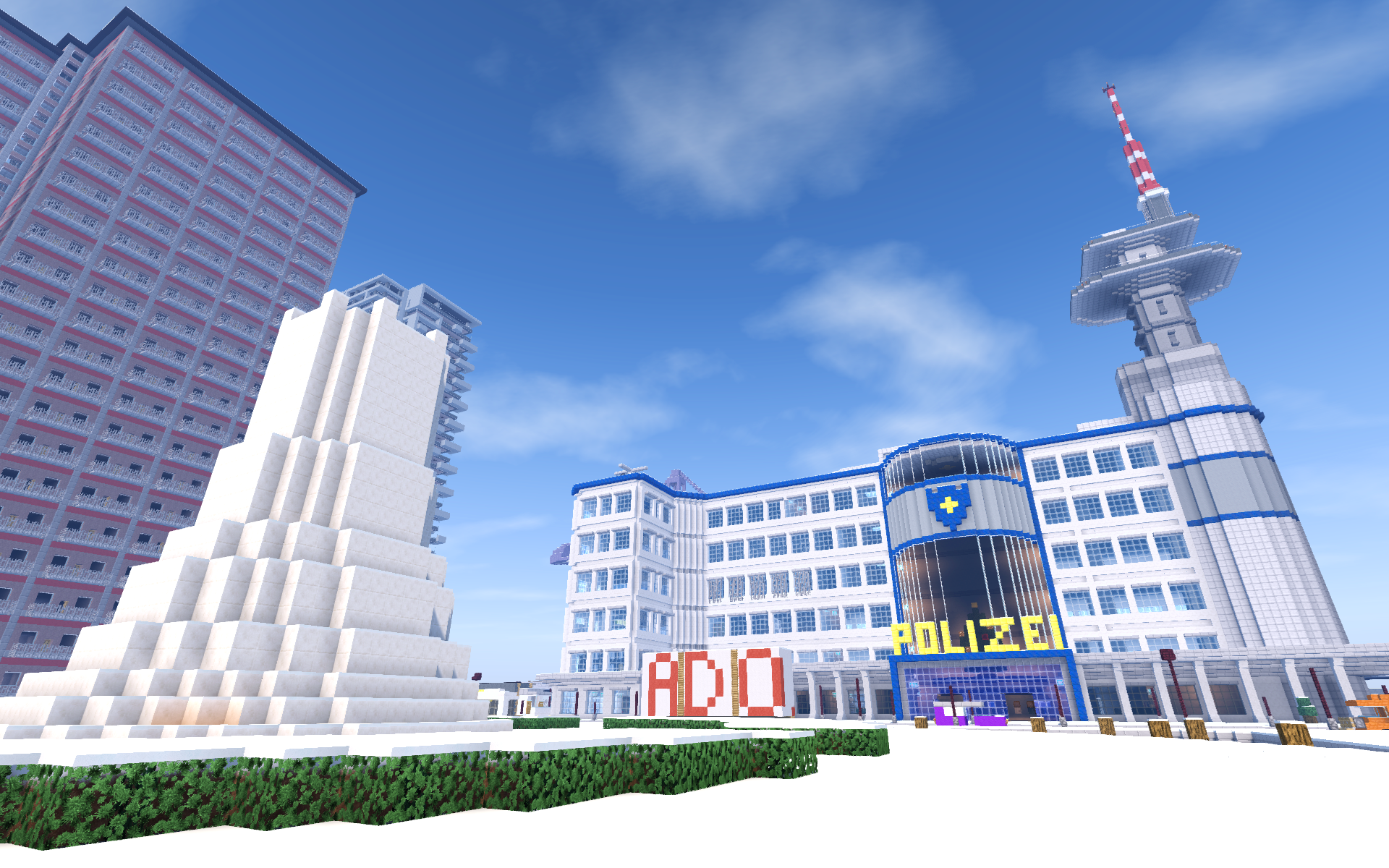 Nitrado Minecraft Winter Event 2016 Polizei