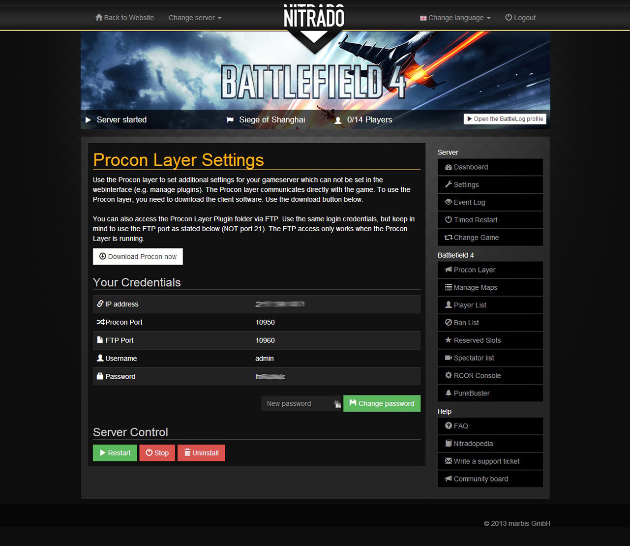Battlefield 4 rent game server | nitrado net