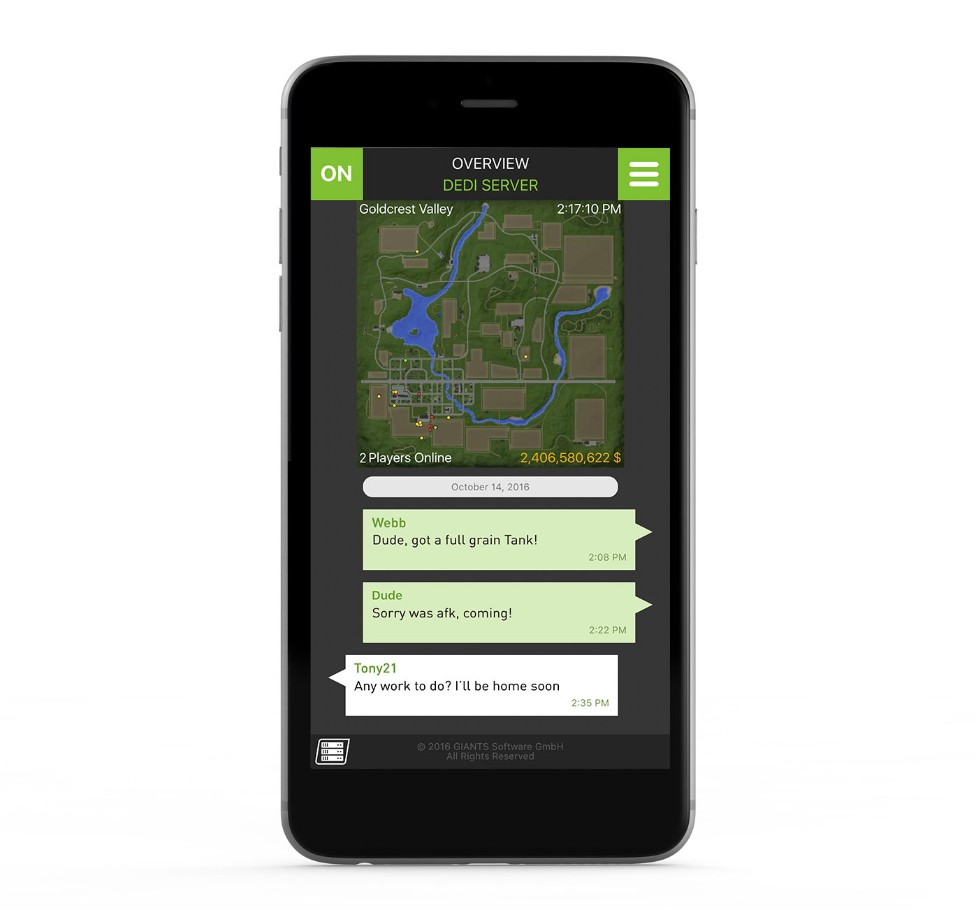 Farming Simulator Mobile App Screenshot-2