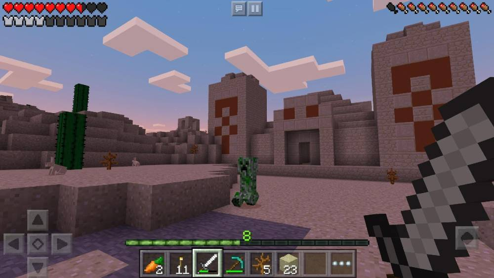 Minecraft (Pocket Edition) Screenshot-1