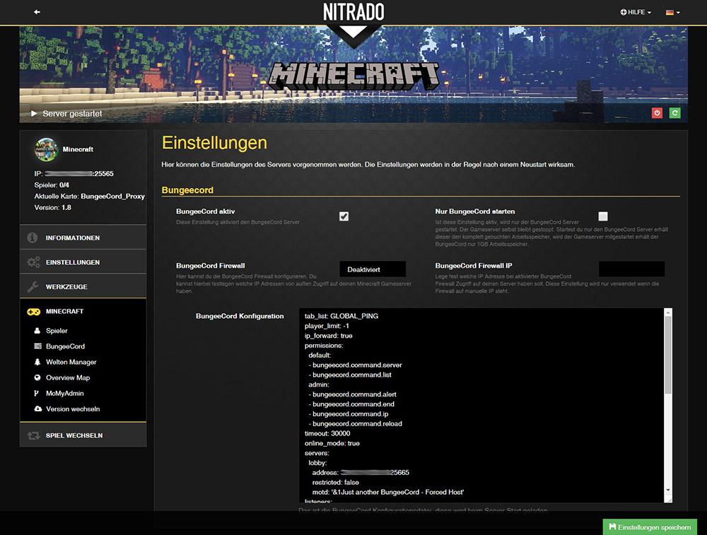 minecraft server 1000 slots mieten