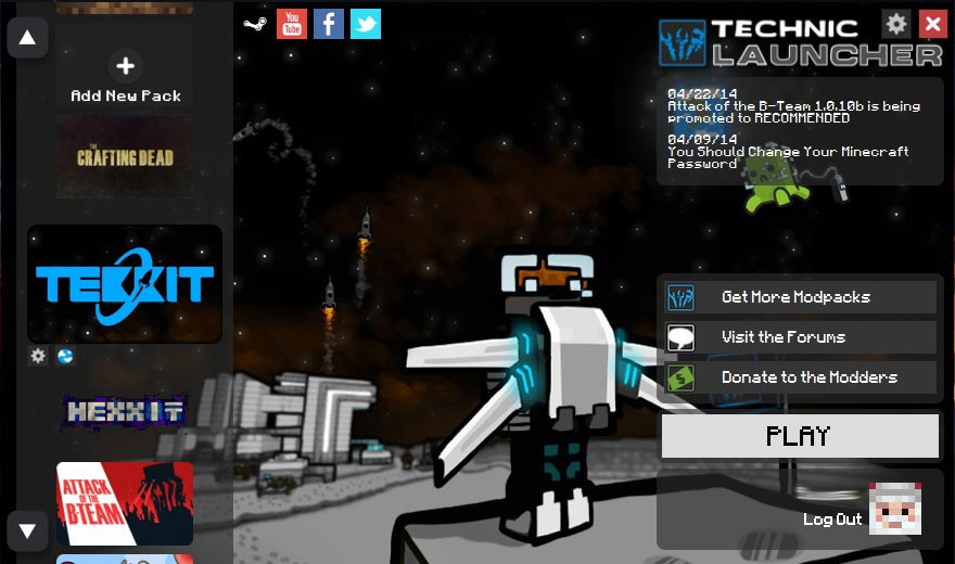 Technic Platform Screenshot 2