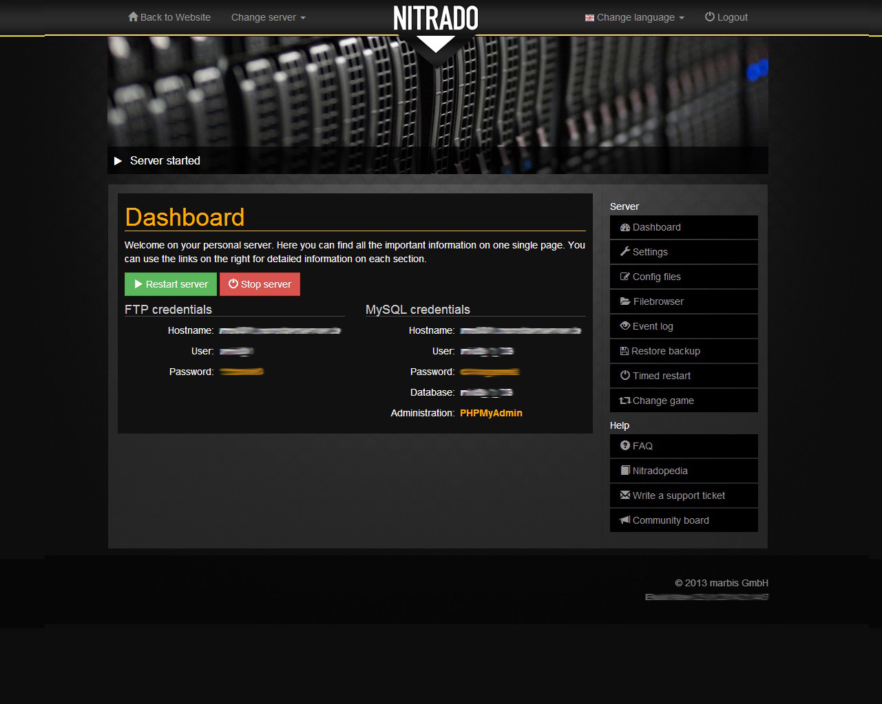Unturned rent game server nitradonet