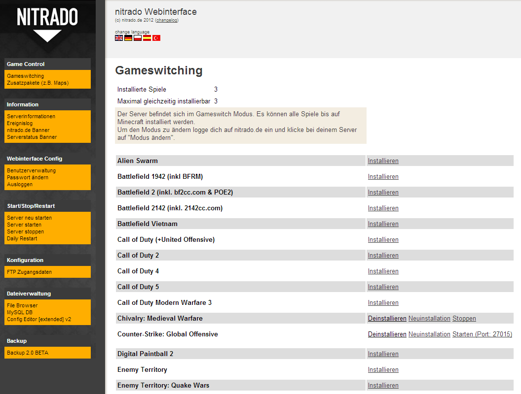 Counter-Strike: Global Offensive rent game server | nitrado net