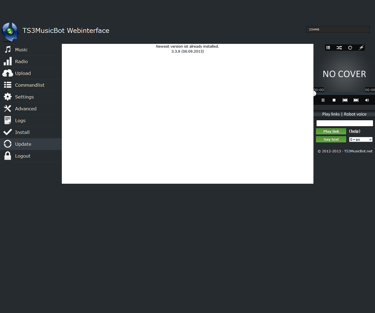 Teamspeak 3 Music Bot rent server | nitrado net